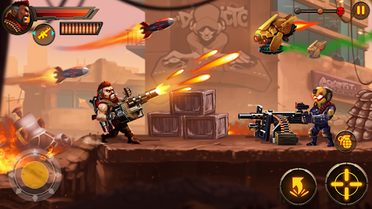 Metal Squad MOD 1.5.4 (Unlimited Coins/Bullets/HP/Bombs/No-Ads) Apk 4
