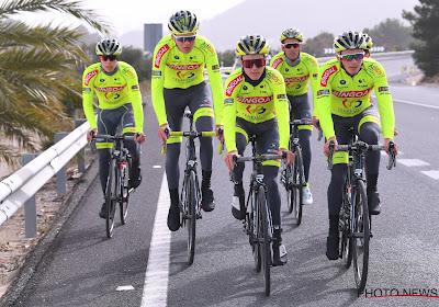 Bingoal WB testte de nieuwe fietsen op de Vlaamse kasseien