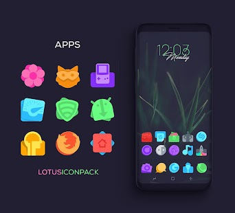 Lotus Icon Pack Screenshot