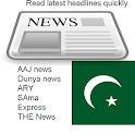 Pakistani news headlines icon