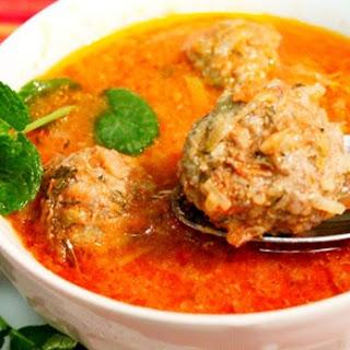 Meatball Soup Recipe / Receta de Sopa de Albóndigas