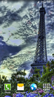 Paris Live Wallpapers screenshot