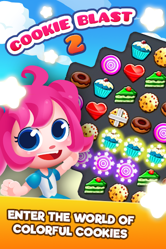 Cookie Blast 2 - Crush Frenzy Match 3 Mania 8.0.6 screenshots 2