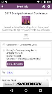 Eventpedia - náhled