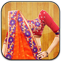 Women Saree Photo Editor icon