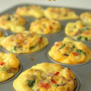 Scrambled Egg Breakfast Muffins.