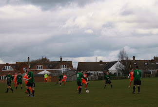 Photo: 16/03/13 v Bedford Hatters (Bedfordshire County Football League Premier Division) 0-2 - contributed by Martin Wray