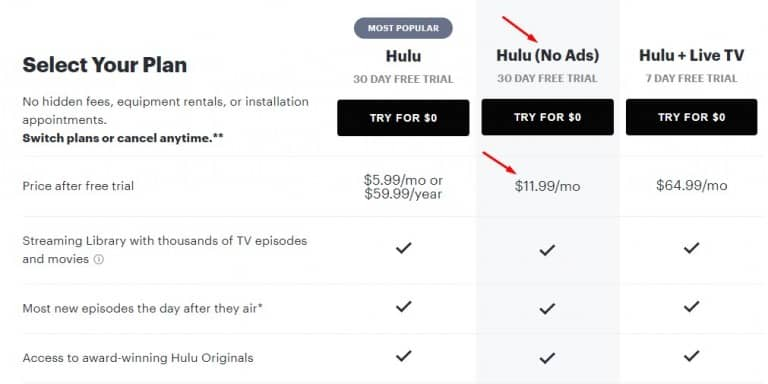 how to get rid of ads on hulu