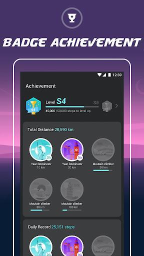 Walking Tracker u2013 Free Step Counter & Pedometer 1.0.0 screenshots 3