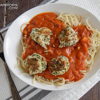 Sundried Tomato Spinach Turkey Meatball