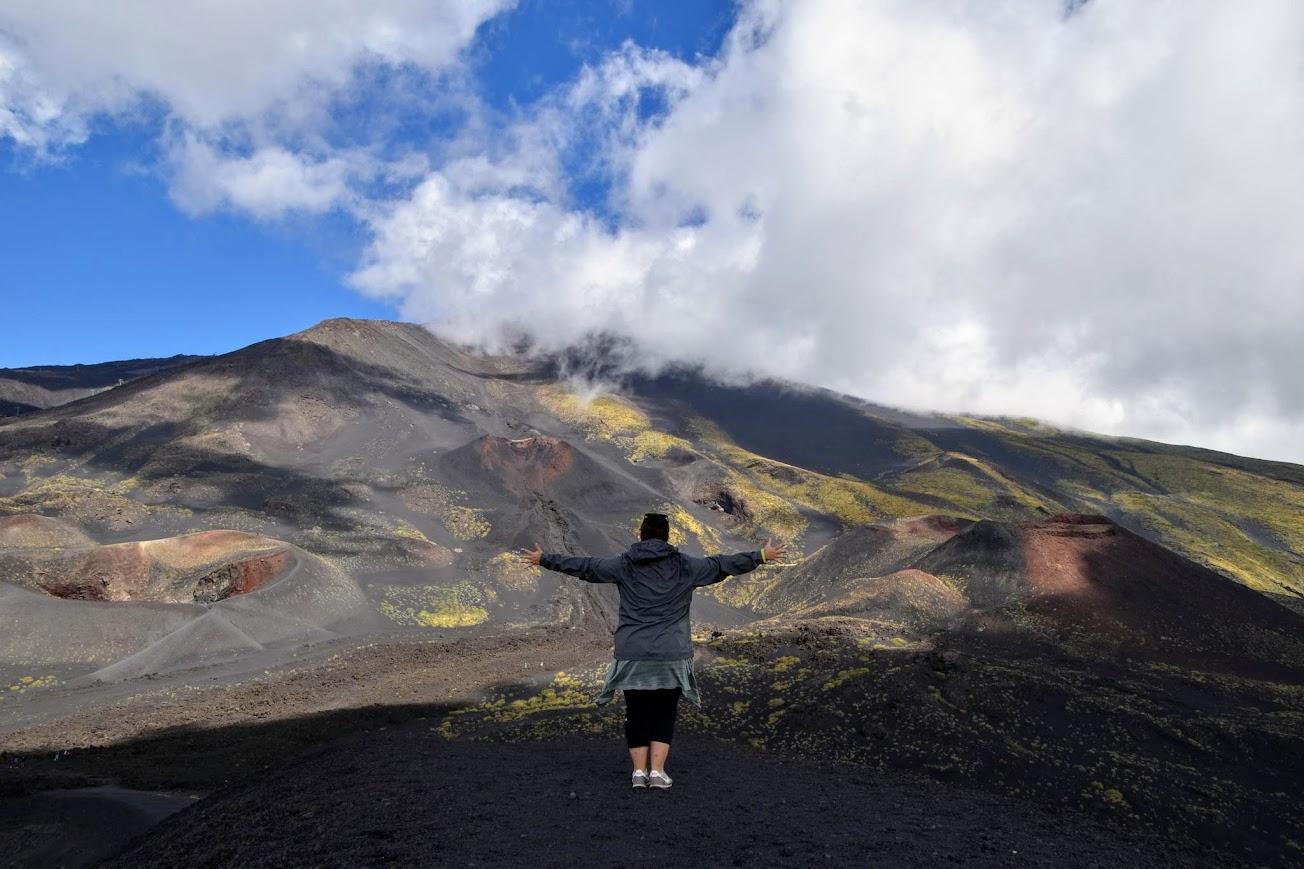 visitar el Etna en tour