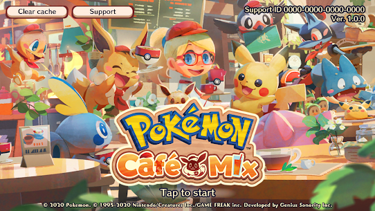 Pokémon Café Mix Mod Apk (Unlimited Currencies) 1