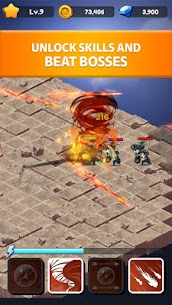 Rogue Idle RPG: Epic Dungeon Battle Mod Apk (Unlimited Gold) 5