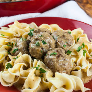 30 Minute Swedish Meatballs.