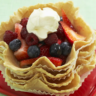 Berries and Chantilly Cream