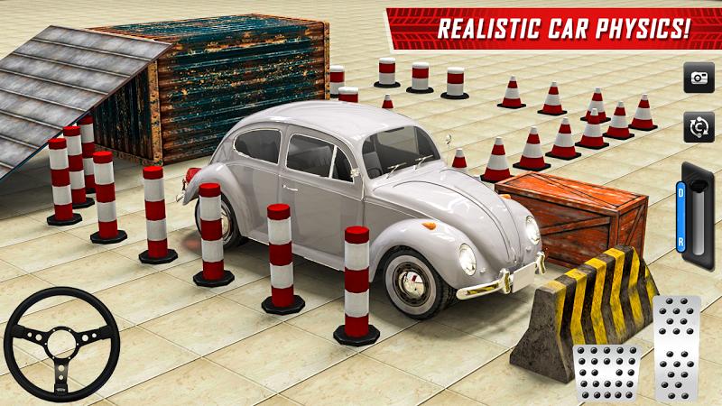 Скриншот классический автомобиль парковка игры жесткий диск