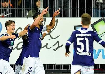 Anderlecht won op het veld van Charleroi