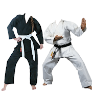 Karate Suit Photo Maker icon