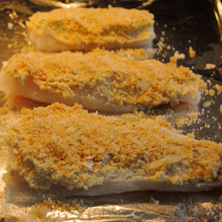 Interesting Dijon Baked Cod