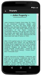 John Fogerty Lyrics Music - náhled