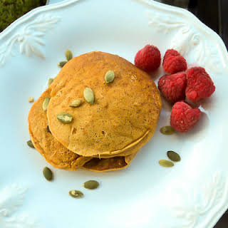 Gluten Free Pumpkin Pancakes.