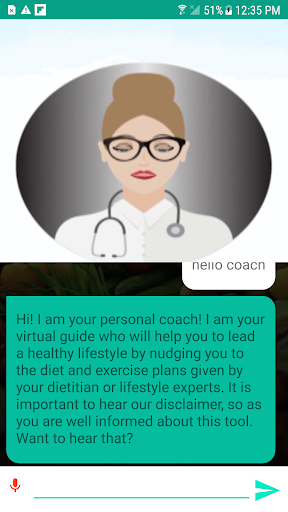 Virtual assistant for lifestyle management screenshot 4