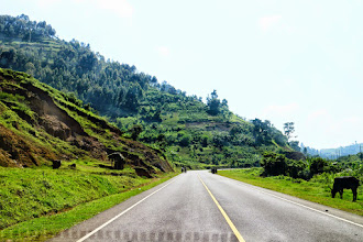 Photo: On our way to Lake Bunyonyi, South Uganda