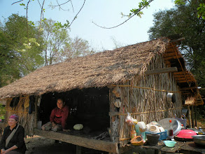 Photo: New Meatl roof to be provided for landmine survivor Chhea Ing and family