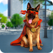 Superhero Dog Battle 3D