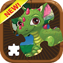 Dragon and Puzzle Jigsaw Games icon