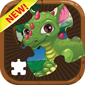 Dragon and Puzzle Jigsaw Games
