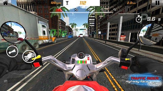 Traffic Rider: Highway Race Light - náhled