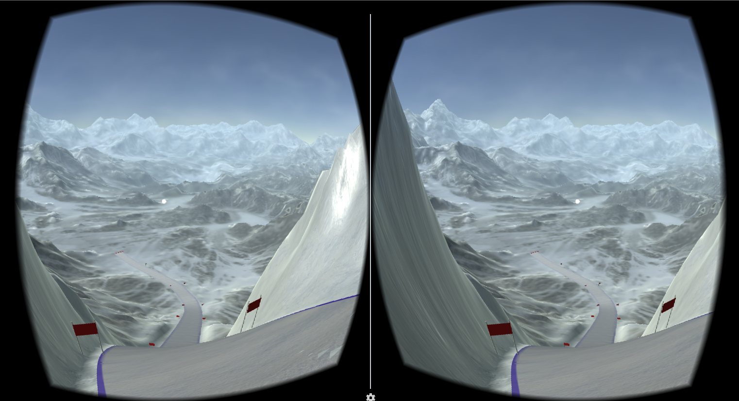 Ski Downhill VR- screenshot