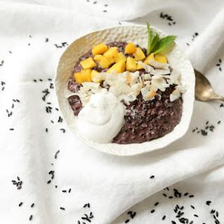 Thai Coconut Black Rice Pudding