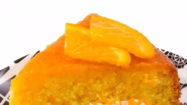 Lil Weare's Orange Cake