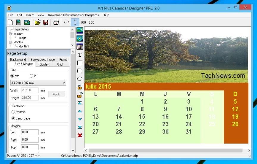 Art Plus Calendar Designer Pro- liceenta gratuita