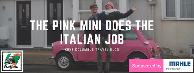 The Pink Mini does the Italian Job Rally | Krys Kolumbus Travel