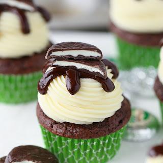 Peppermint Pattie Cupcakes Recipe