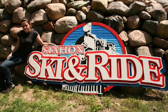 """Photo: Carved Sign Toronto, """"Station Ski & Ride"""", See more wood carved signs @ at www.nicecarvings.com"""