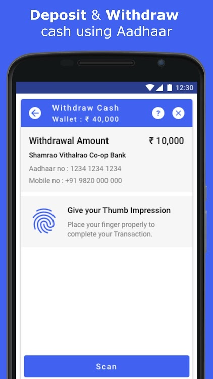 PayNearby Retailer - Aadhaar ATM, Money Transfer – (Android