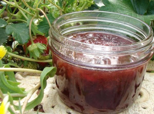 Rhubarb Merlot Jam Recipe