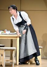 Photo: DAS KONZERT von Herrmann Bahr. Wiener Akademietheater - Premiere 7.2.2015. Inszenierung: Felix Prader. Barbara Petritsch. Copyright: Barbara Zeininger