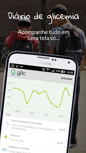 Glic | Diabetes e Glicemia  screenshots 2