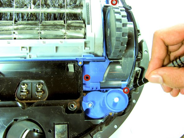 How to replace iRobot Roomba 650 Main Wheel