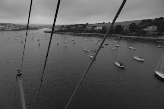 Photo: Flushing from the mast head