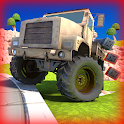 Chaos Truck Drive Offroad Game icon