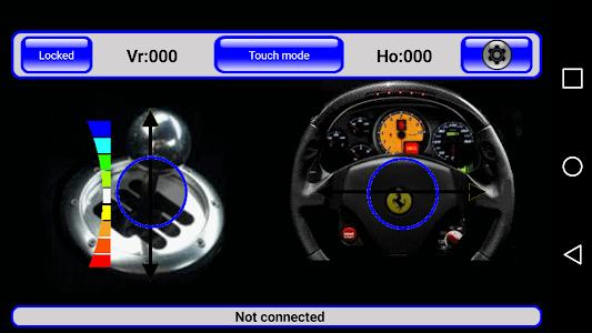 IRacer & Arduino BT controller screenshot 6