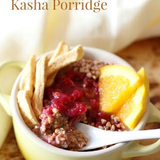 Raw Winter Kasha Porridge.