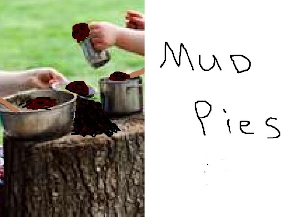 Give them old buckets, pots, pans and spoons.  Add some dirt and water....