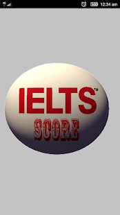 IELTS Score Calculator Application - náhled